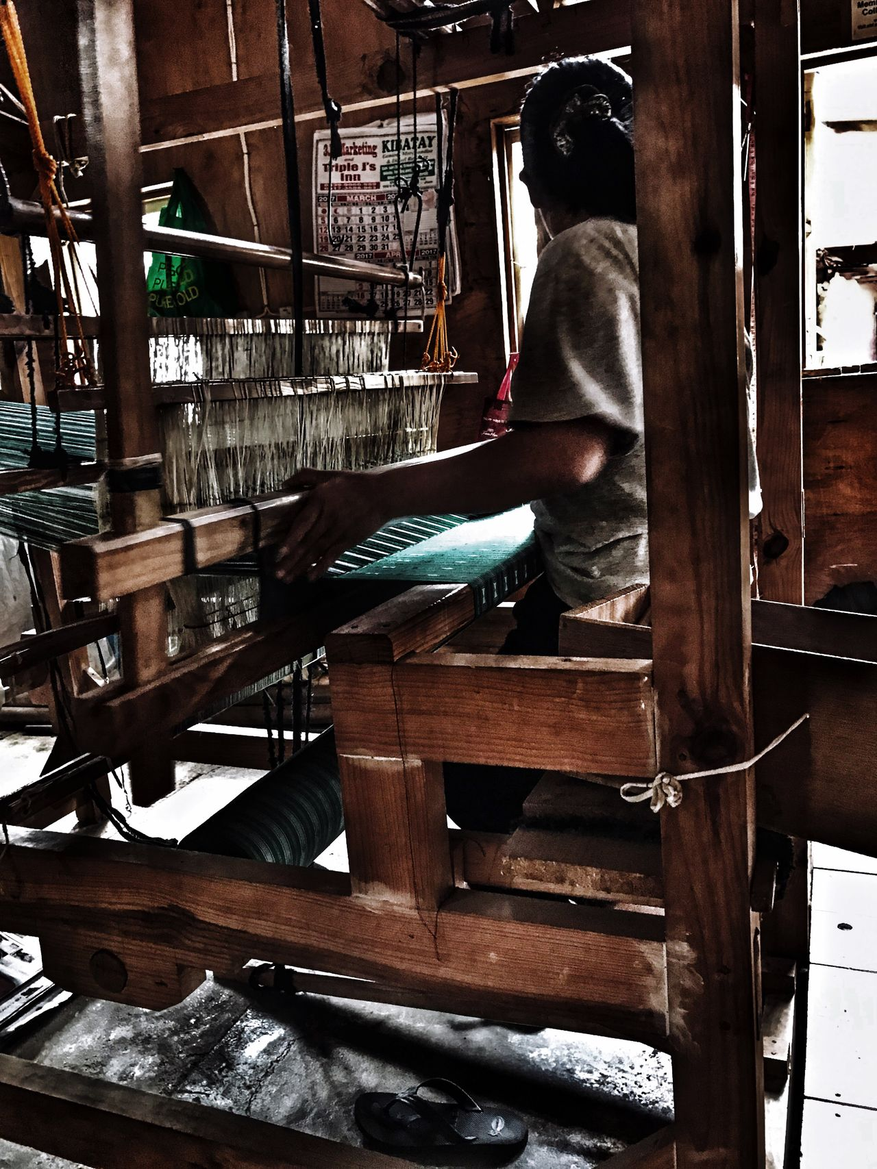 Sagada weavers Skill  Working Occupation Weaving Philippines Women Around The World