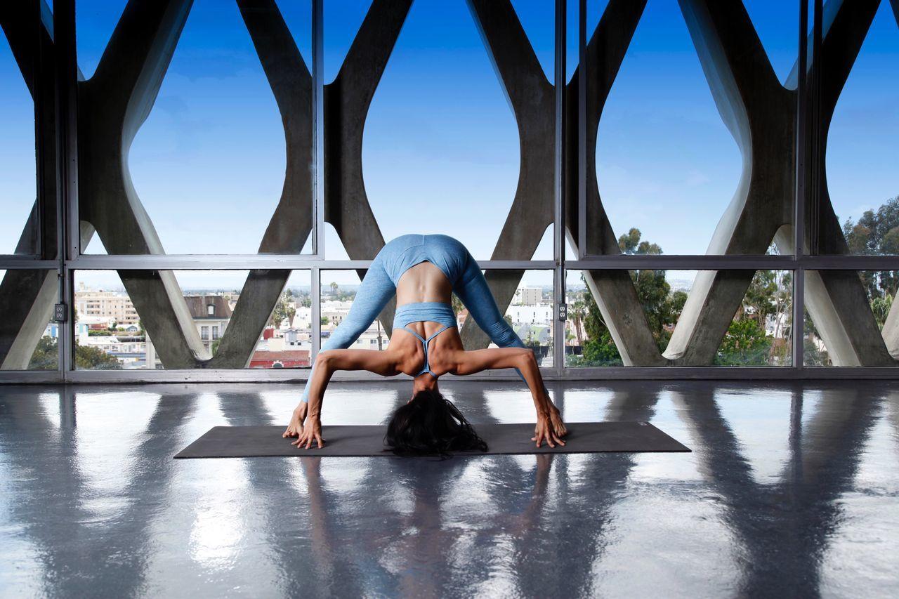 Beautiful stock photos of woman, Balance, Blue, Casual Clothing, Day