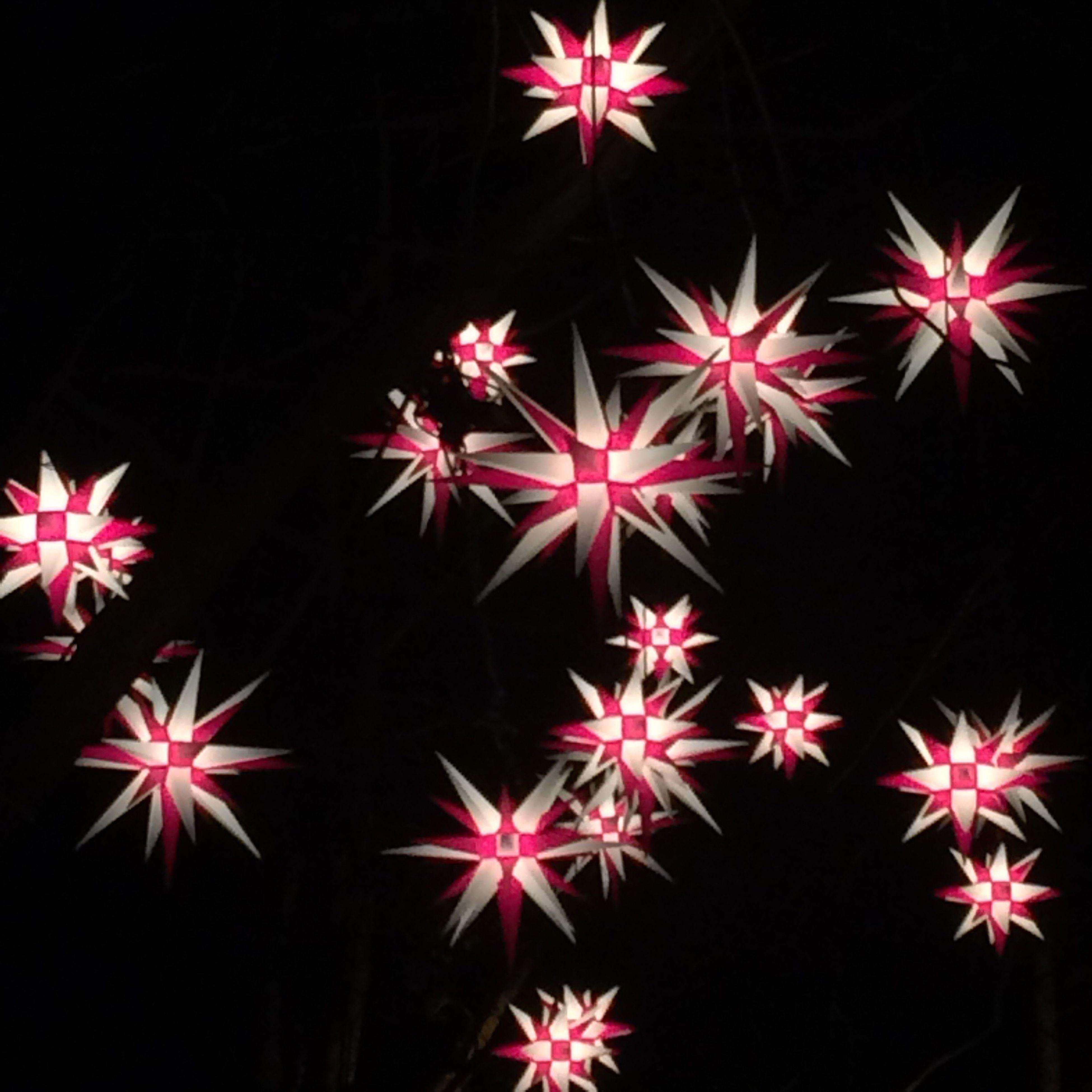 night, celebration, firework display, no people, firework - man made object, firework, sky, exploding, christmas decoration, outdoors