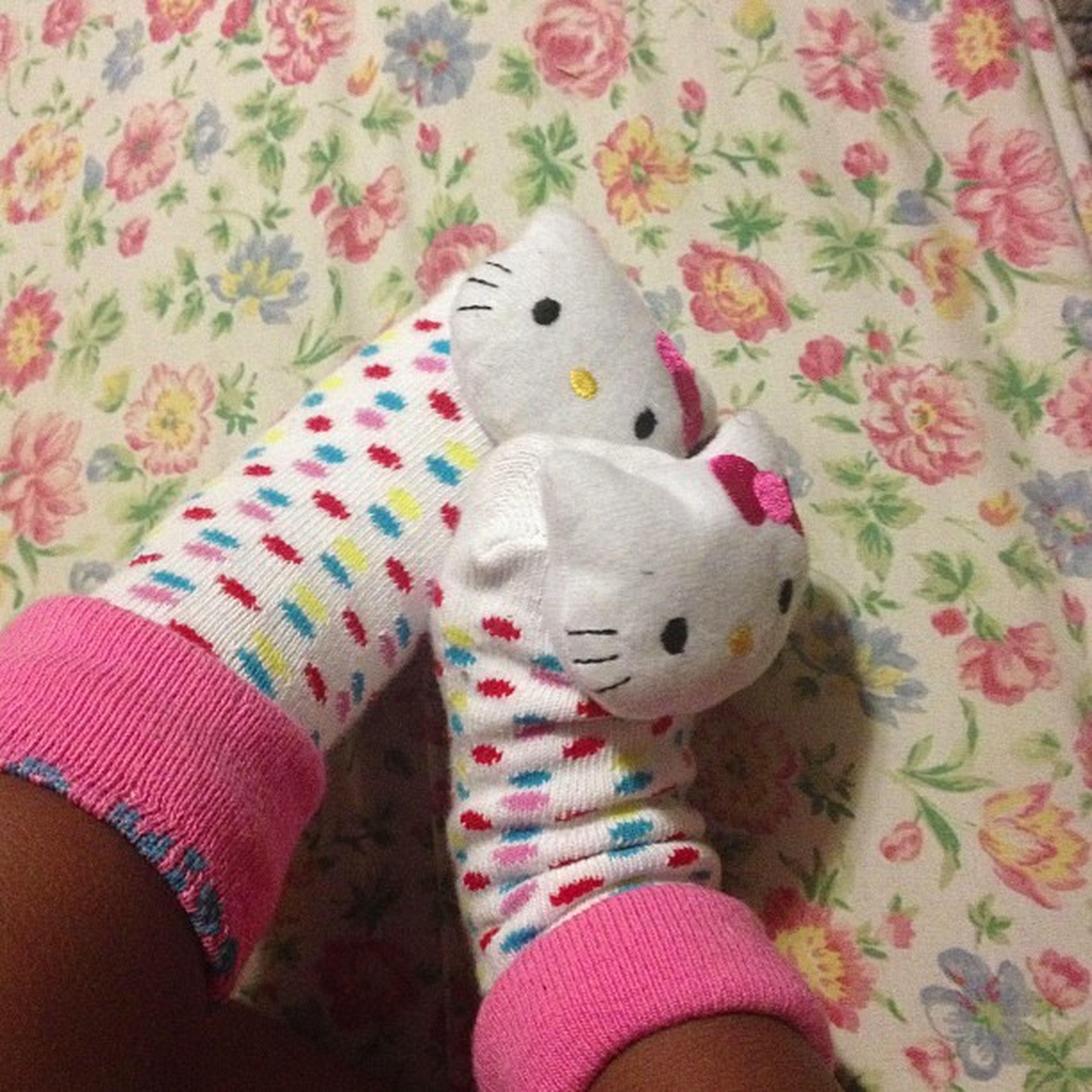 Love these socks I got Bijon. Isecretlywantapair Hellokitty