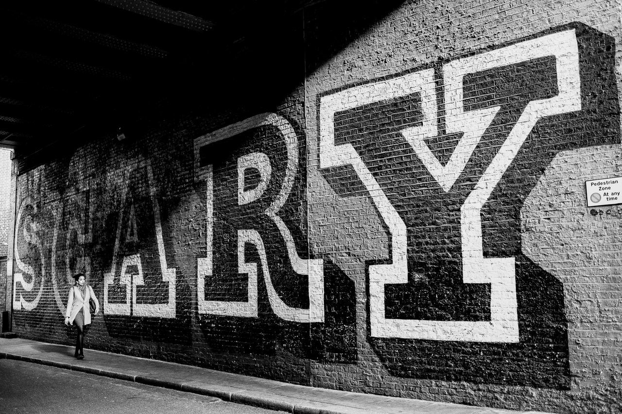 Scary Black & White Blackandwhite Graffiti Hipster Hoxton London Street Street Photography Streetphotography