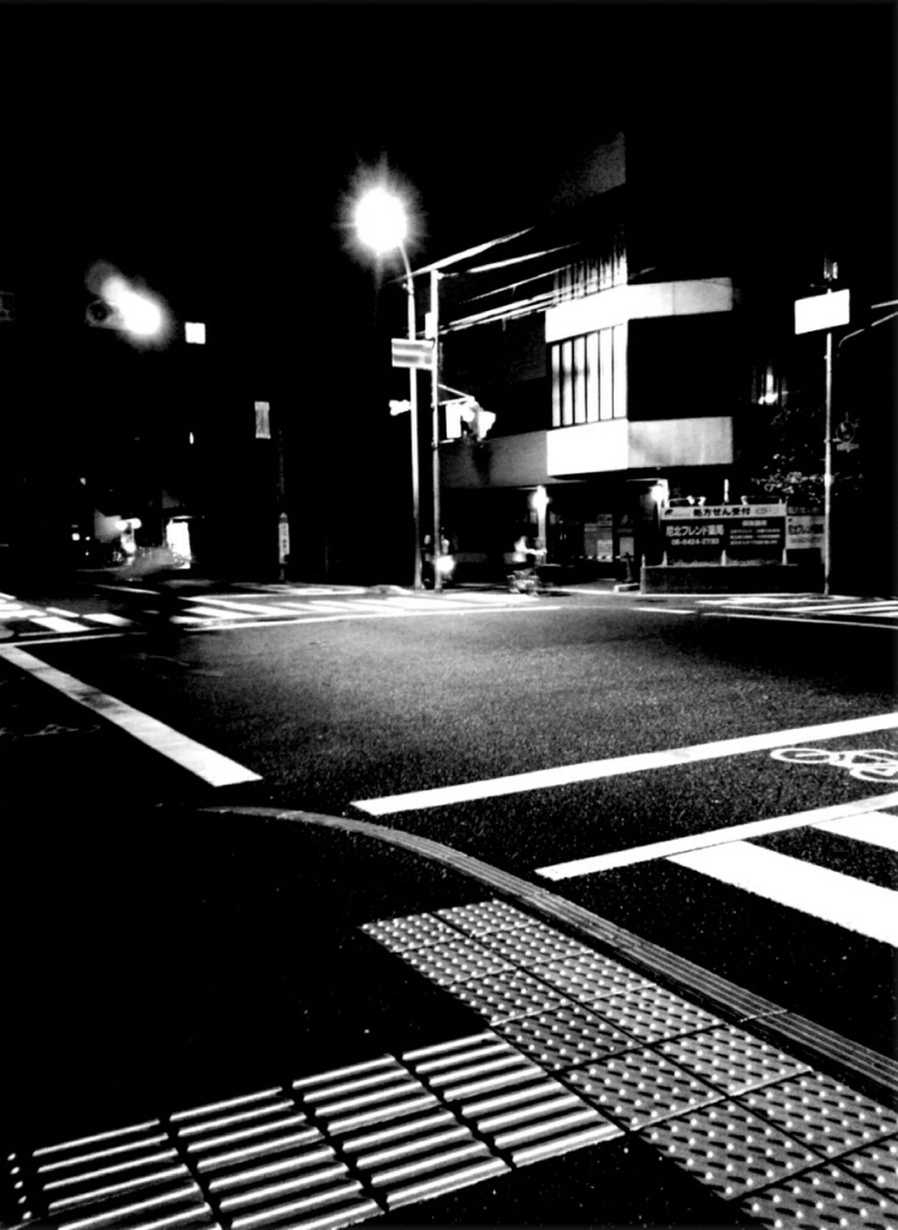 Blackandwhite Crossing