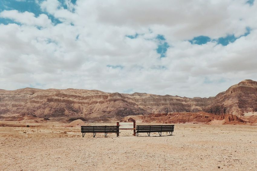 Deserts Around The World Timna Negev  Israel Desert Sky Relaxing Traveling Eye4photography  Road Trip The Great Outdoors - 2016 EyeEm Awards Feel The Journey
