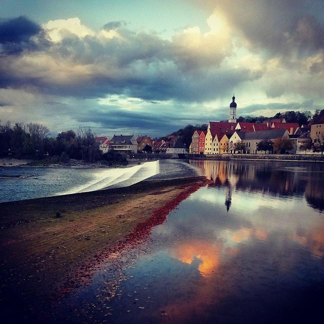 Landsberg Warten Herbst Flussrauschen
