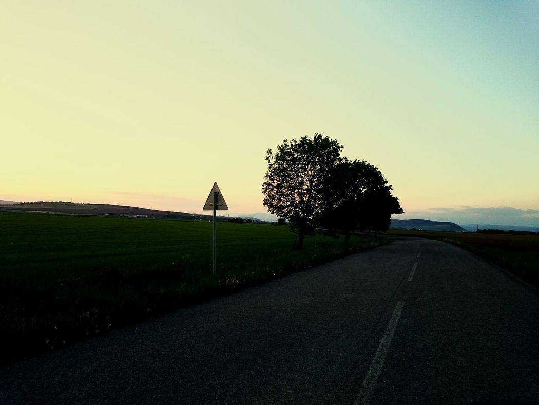Oneway Sun Go Down...