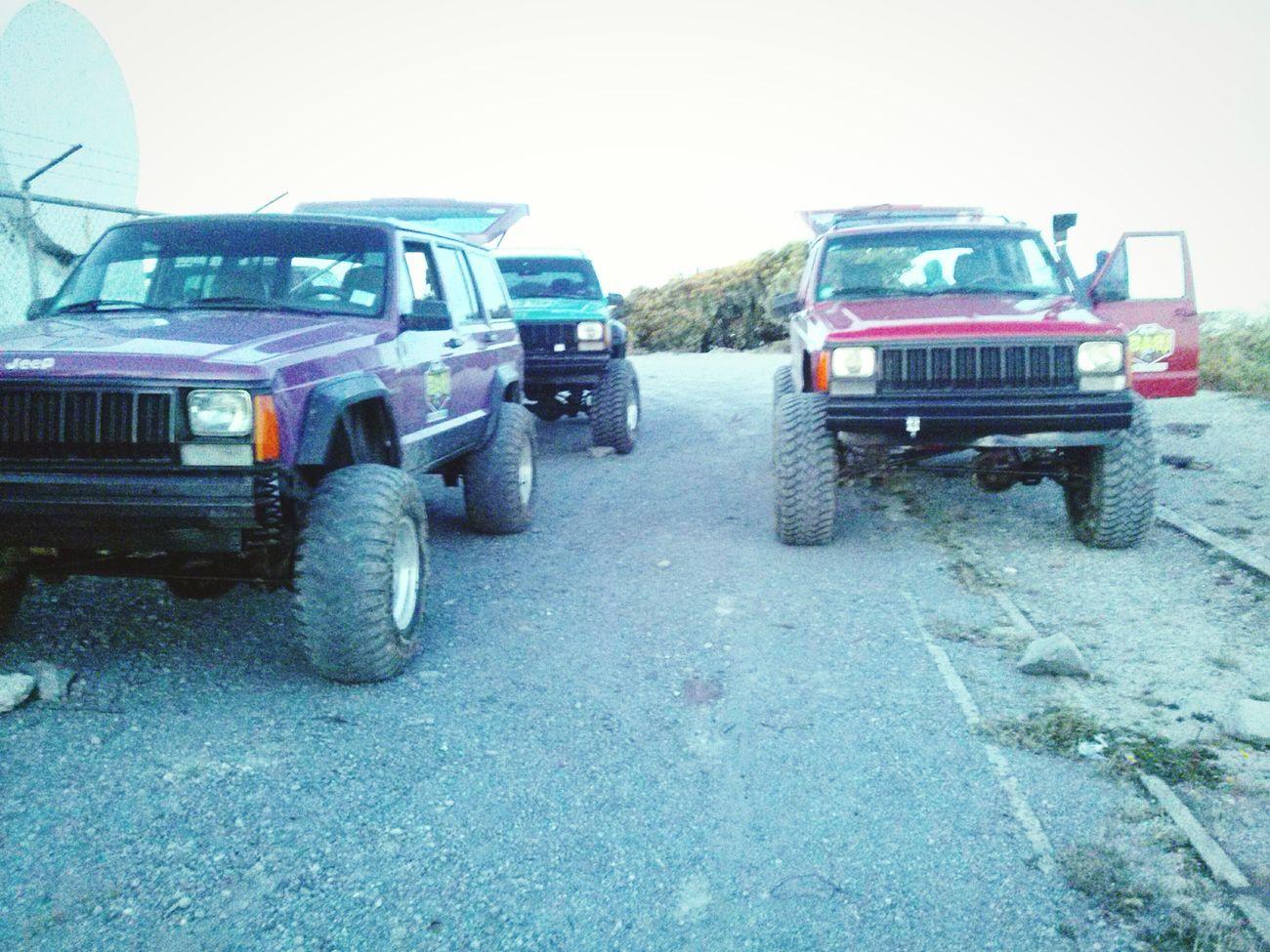 Rural Scene No People Sky Day Volcano National Park 4x4 Trucks