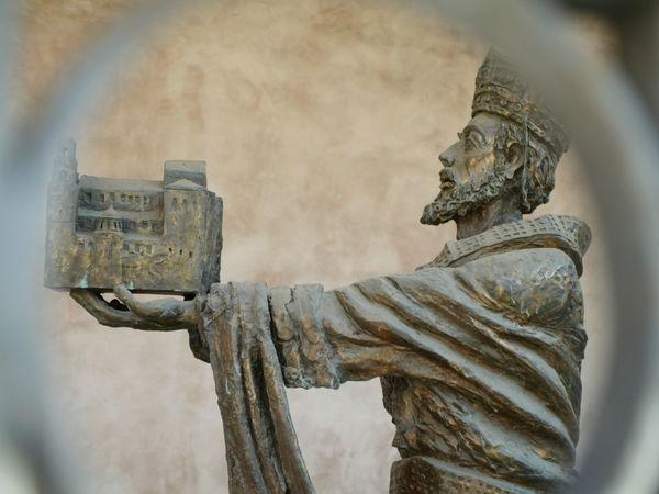 Sicily, Italy Architecture Close-up Duomo Di Monreale Human Representation Photography Themes Sculpture Statue Trinacria