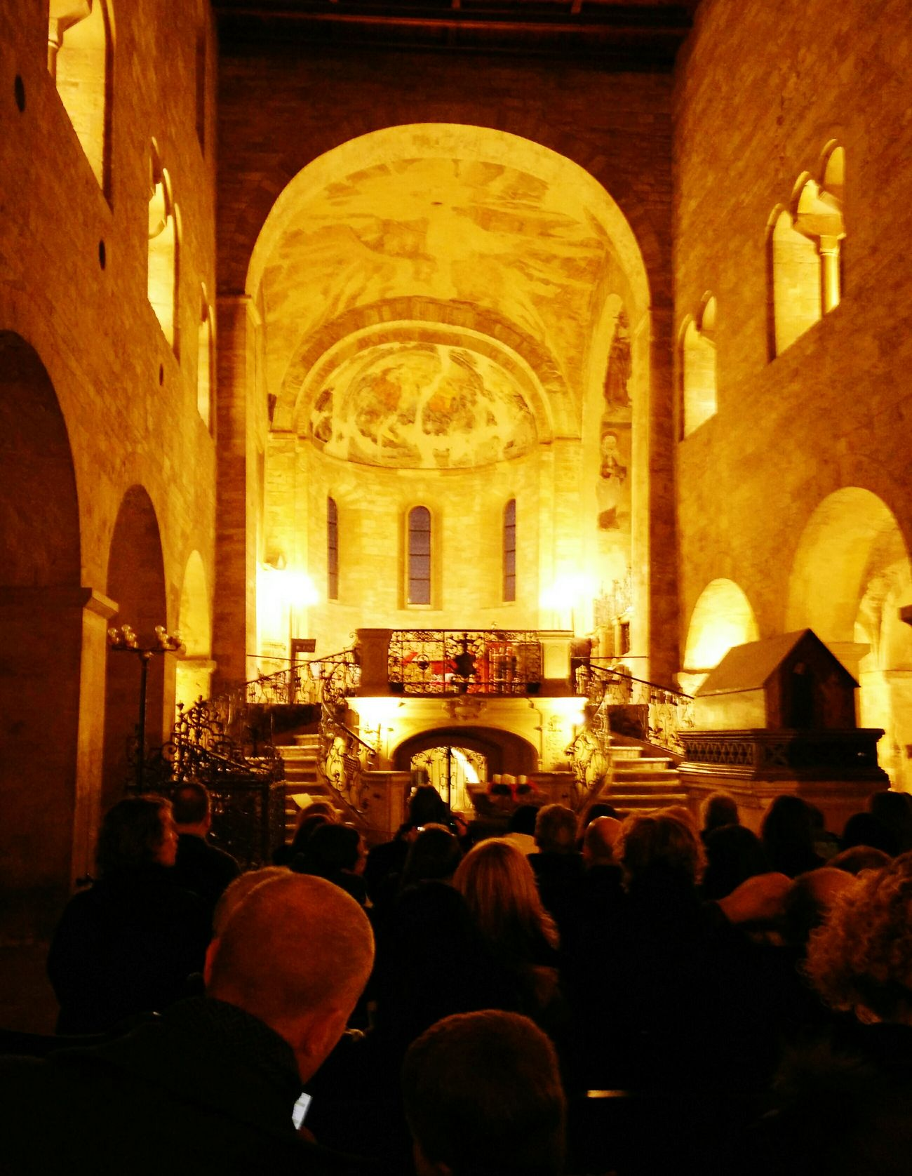 Christmas concert Prague St. George's Basilica Prague Castle Praha Winter Freezing Concert