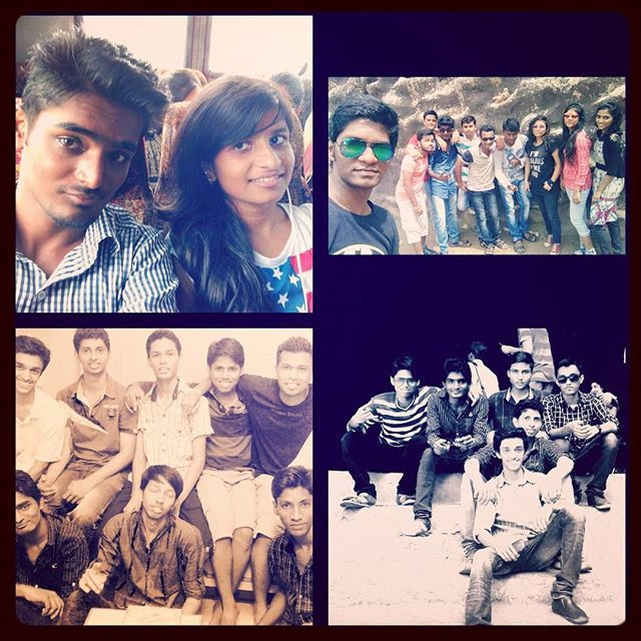 Friends 4ever... Friends Happymoments Picsart Collage Happiness Greatpeople