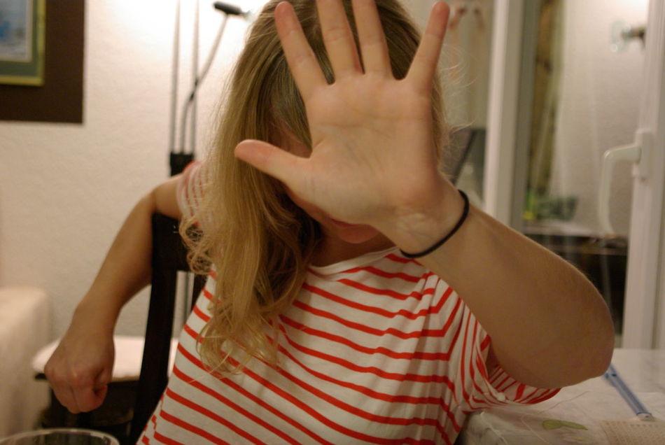 Beautiful stock photos of single, Attitude, Behaviour, Blonde, Covered Face