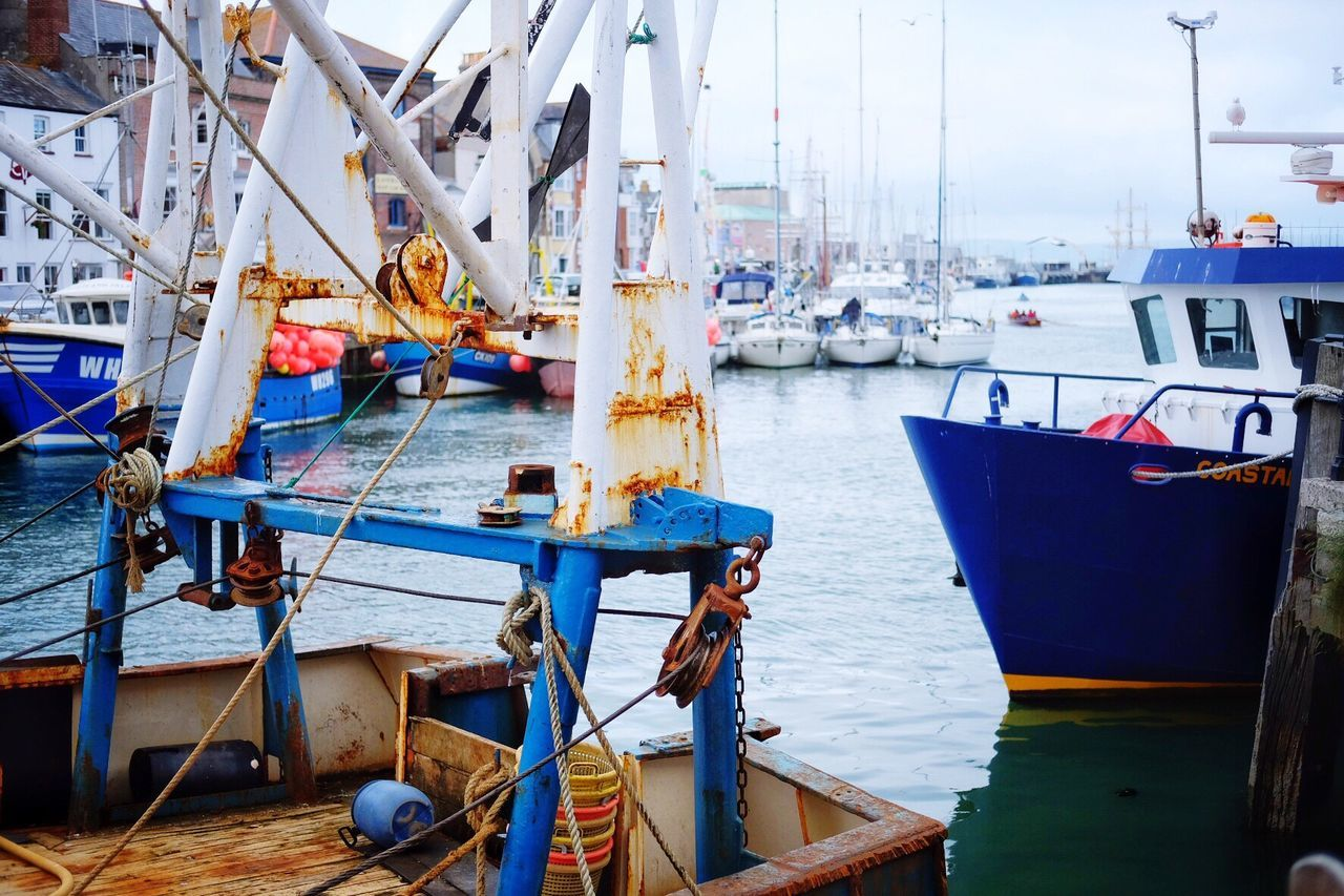 Weymouth Harbour Weymouth Dorset Weymouth Trawler Trawlers Harbourside Harbour Life