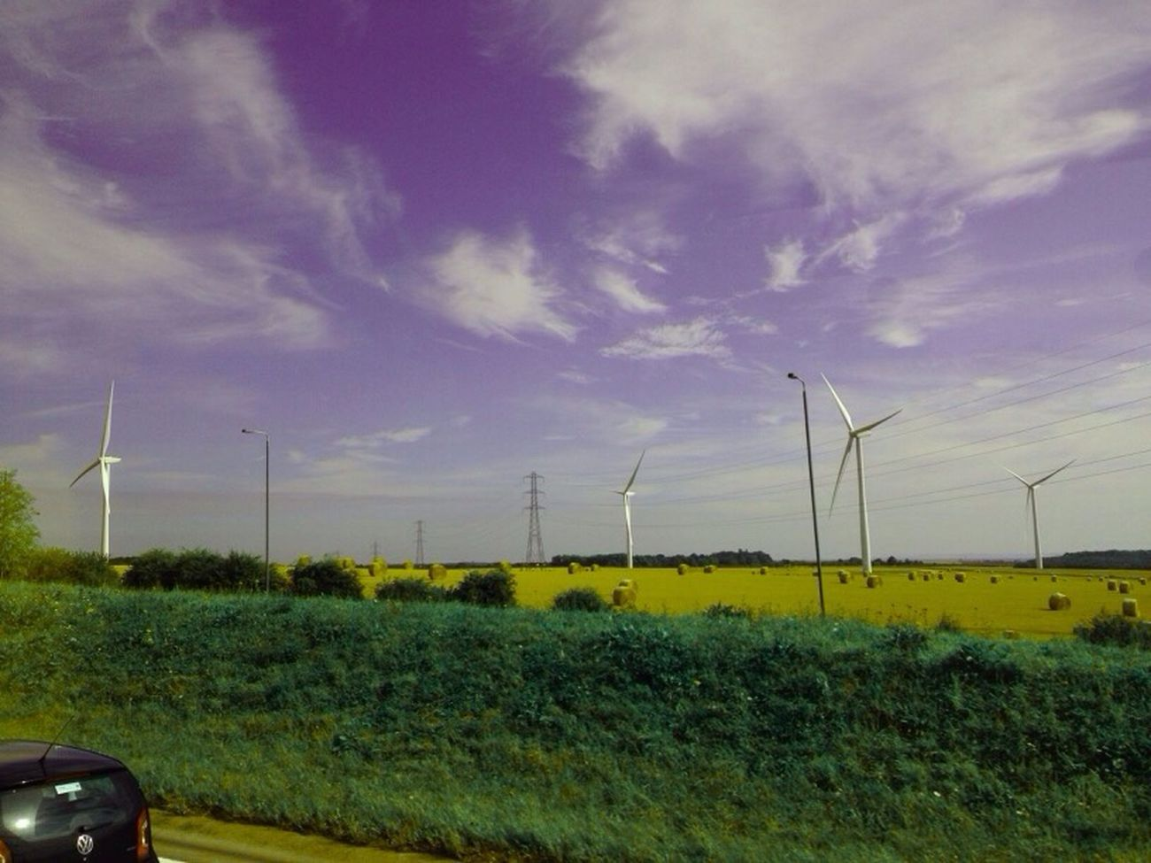 Playing With Colours Wind Turbine Alternative Energy Fuel And Power Generation Wind Power Environmental Conservation Renewable Energy Windmill Rural Scene Field Environment Sky Tranquility Sustainable Resources IPhone Photography Nature Cloud Beauty In Nature Iphonephotography Open Area Lincolnshire Aberford Leeds, UK