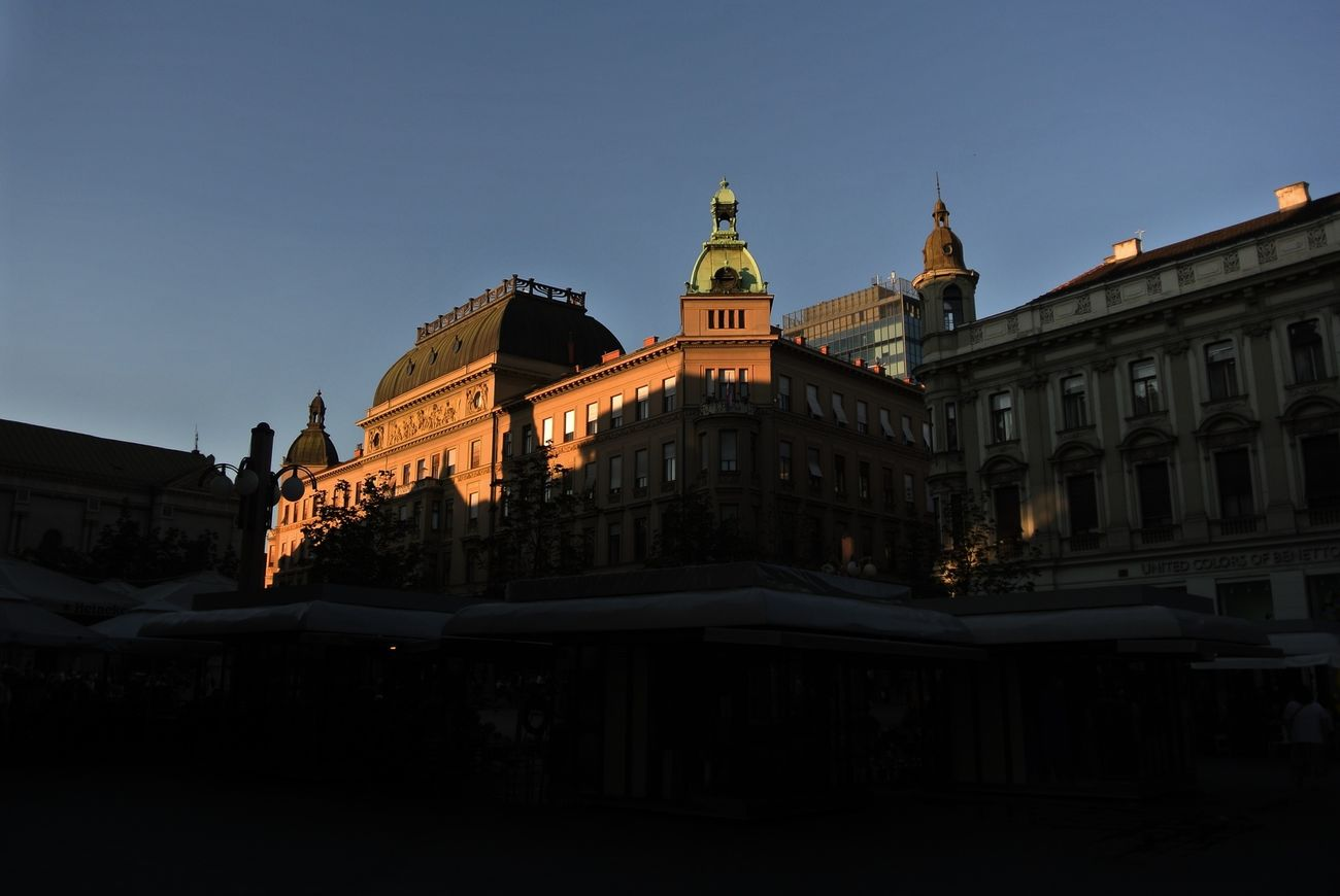 sunset Nikon 1 V1 Zagreb Tak Imam Te Rad