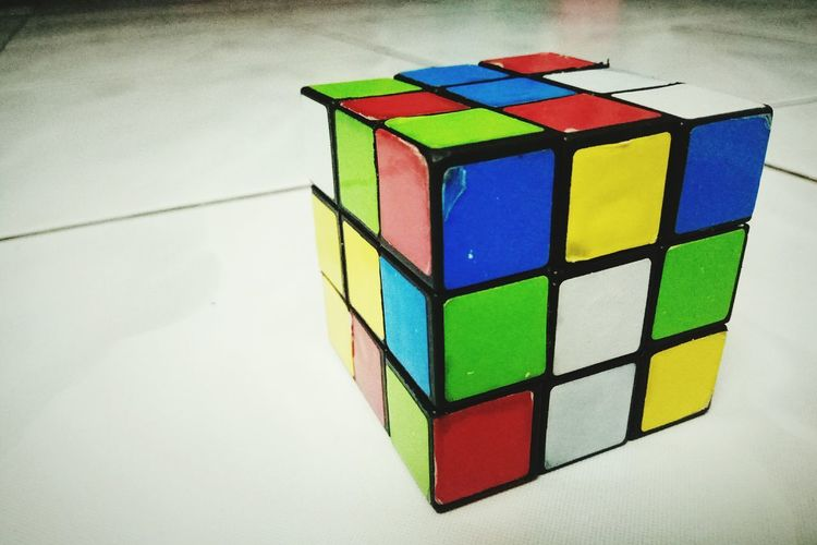 Cube Geometric Shape Shape Multi Colored Indoors  Built Structure Stack Architecture Toy Block Puzzle  Strategy Intelligence Day Close-up