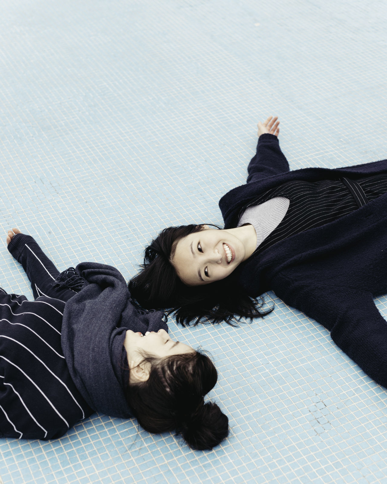 Beautiful stock photos of freundschaft, lying down, lying on back, one person, one woman only