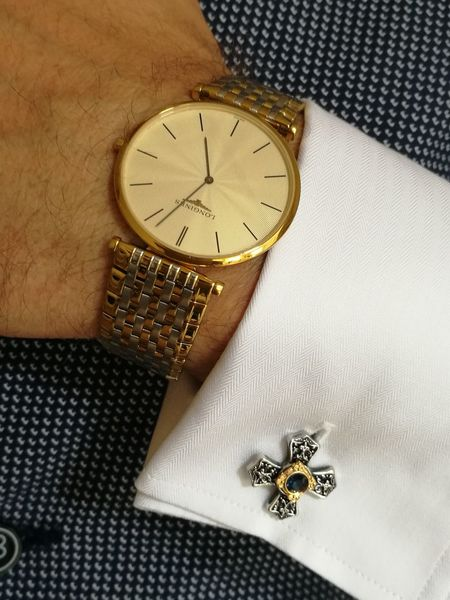 Longines Watches Cufflinks Cufflink Style Stylish