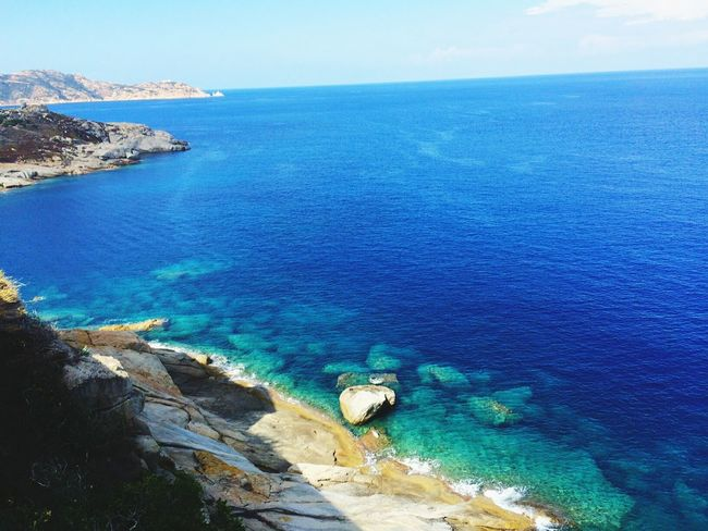 Corsica Corse Sea Water Horizon Over Water Nature Beach Beauty In Nature Sky Tranquil Scene Day No People