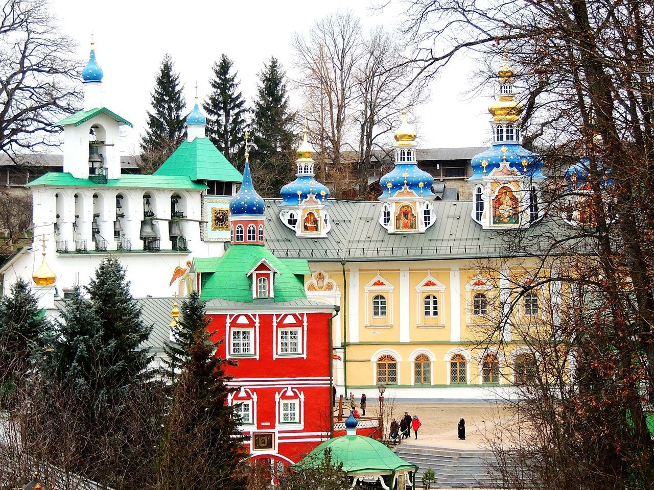Pechory Old Monastery Men Pskov Russia Saint Place The Architect - 2016 EyeEm Awards Magic Colors Wintertime Jorney