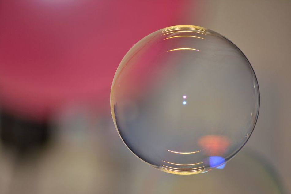 Bubble Colorful Happy Alone One Simplicity Simple Things Small Detail Pink