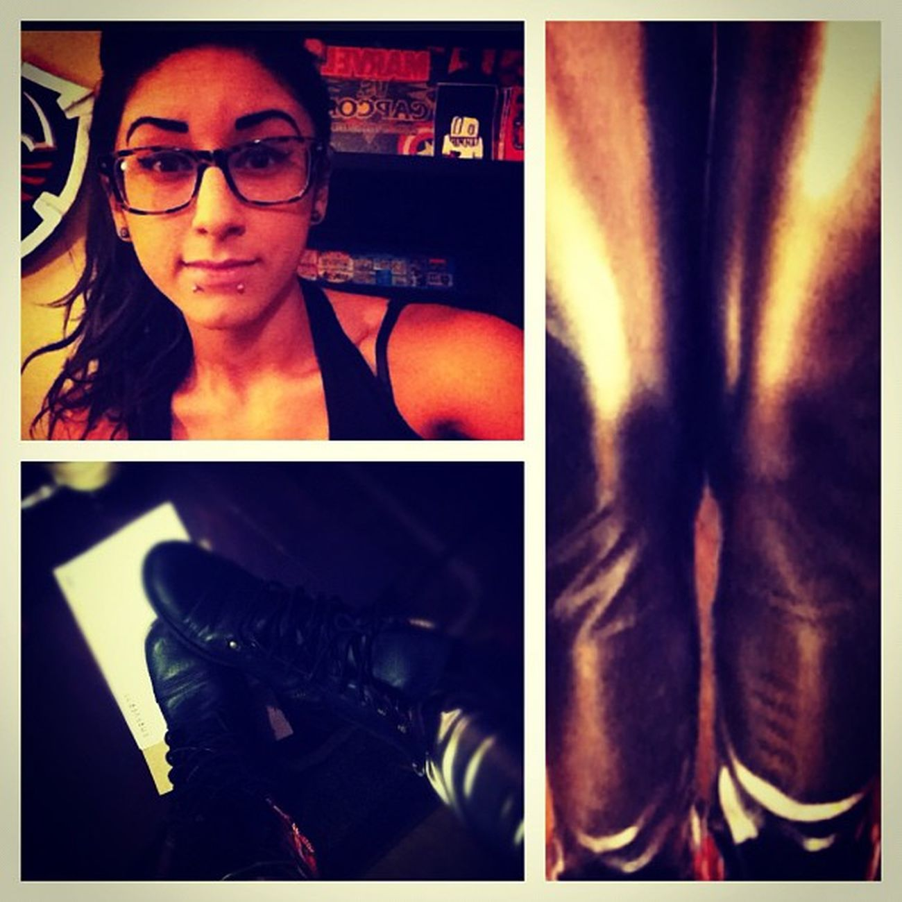 Going grocery shopping lol Silverleggings Boots me and my baby MarvelvsCapcom arcade machine<3 Gamergirl nerd jazzyfresh dork zelda igers