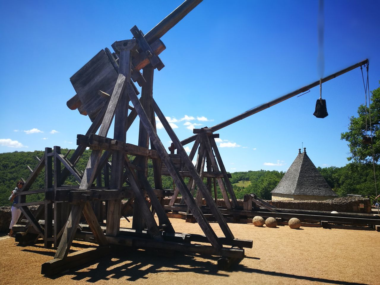 Siegeweapon Siege Castle Defense Slingshot Trebuchet Two Is Better Than One