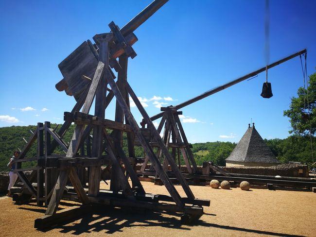 Siegeweapon Siege Castle Defense Slingshot Trebuchet Two Is Better Than One