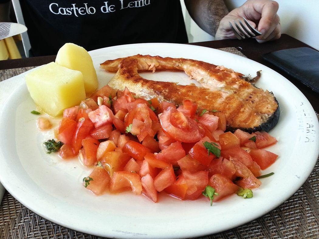 Foodie : salmon with crazy tomato @ Leitaria