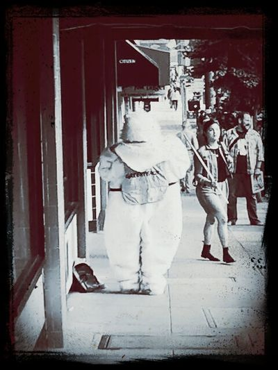 Rabbit on the loose. The Moment - 2014 EyeEm Awards Street Photography Street Life Streetphotography