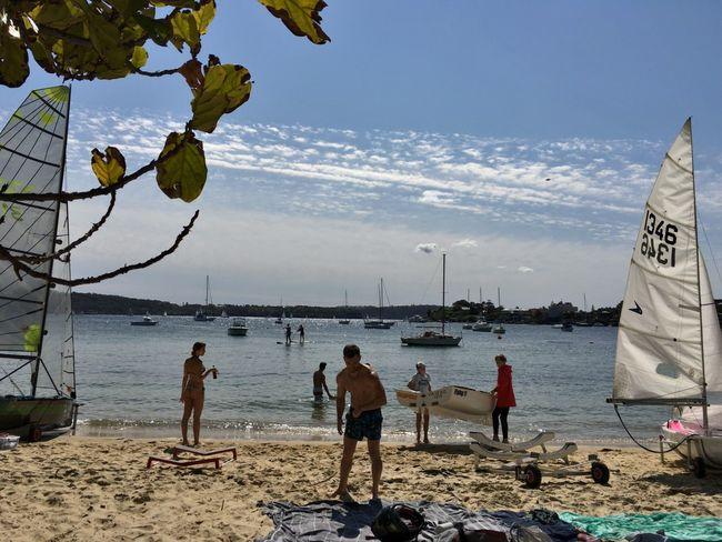 Beach Nautical Vessel Boat Sky Leisure Activity Sand