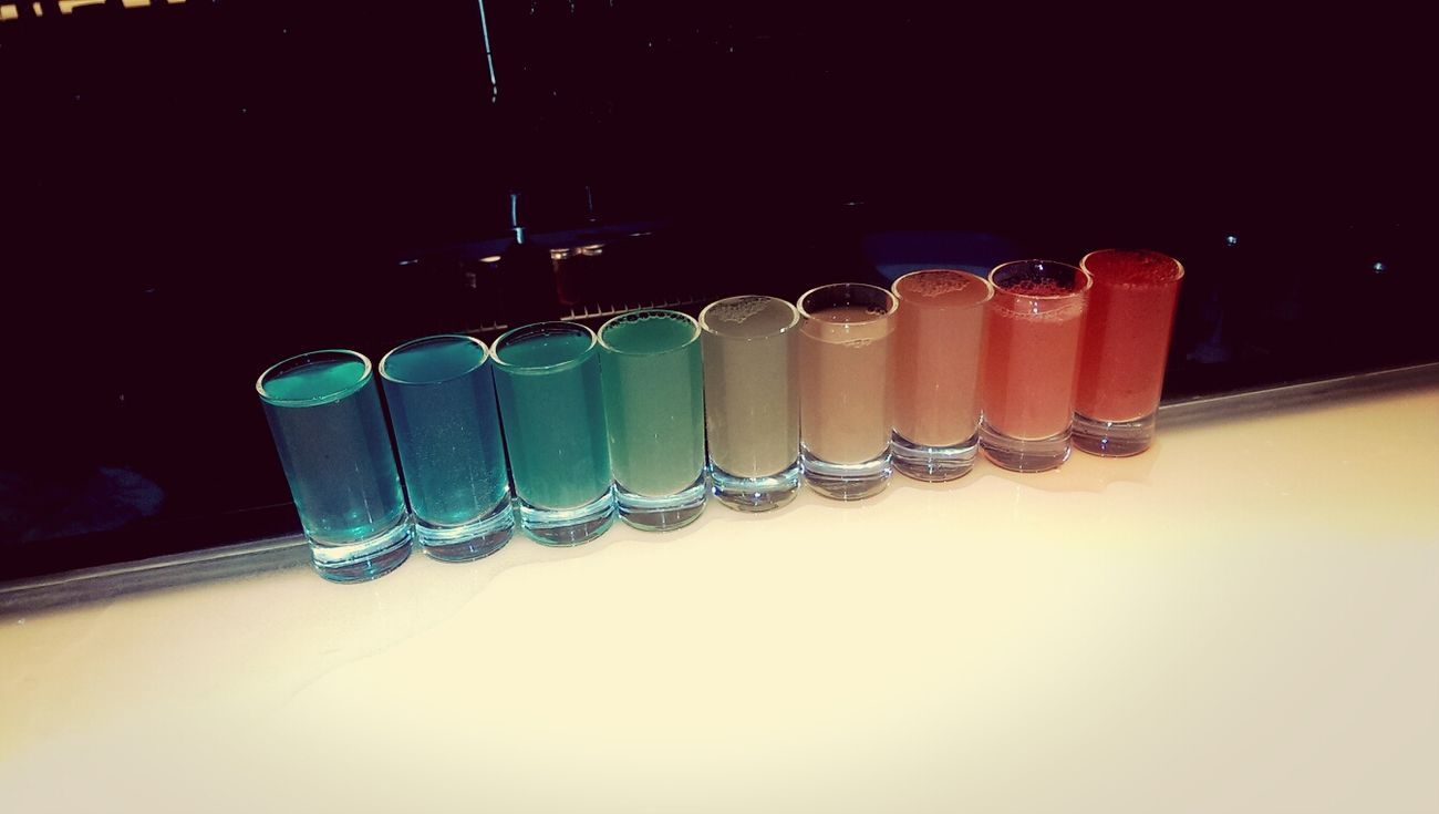 Girl Night Out Rainbow Shot Chat Heart By Heart Sismance