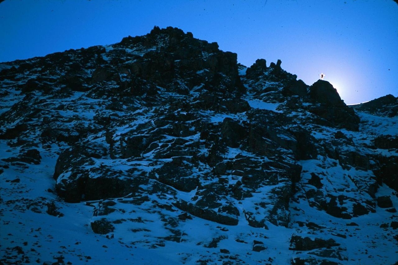 Landscape #Nature #photography Nikon FA Fuji Velvia 50 Mountain Climbing Mt Elbert, Co