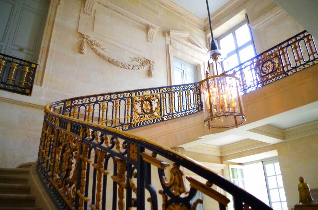 Versailles France Chateauversailles Castle Petit Trianon Château De Versailles  Historical Monuments Historical Lantern Gold