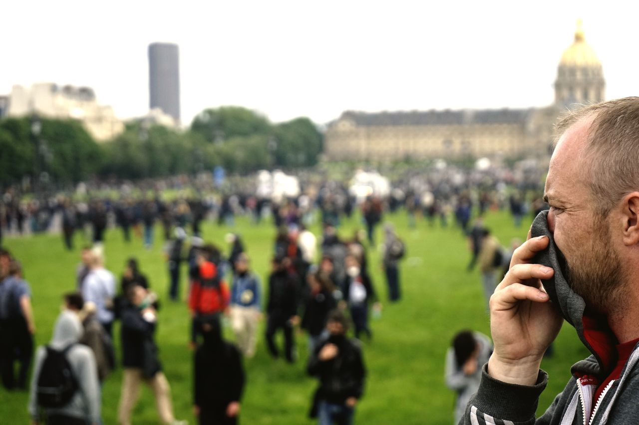 Riot France Paris Teargas Police Work World Travel Photography Traveling