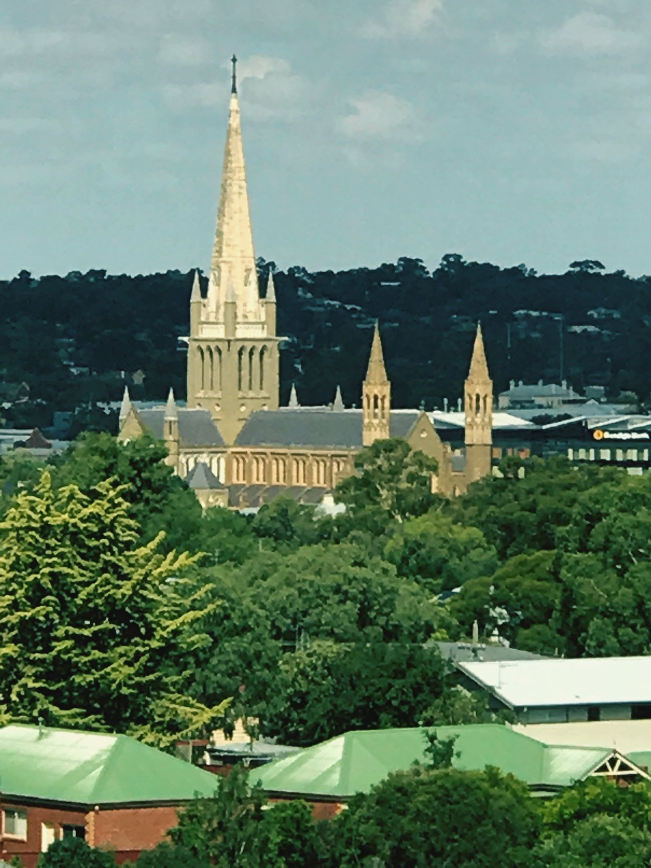 Bendigo cathedral Architecture Building Exterior Place Of Worship Travel Destinations Outdoors Spirituality