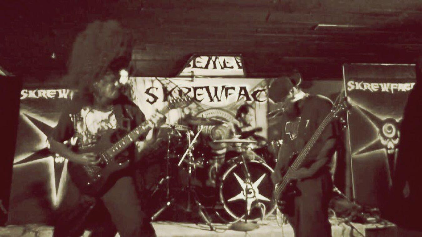 Music Metal Skrewface Concert