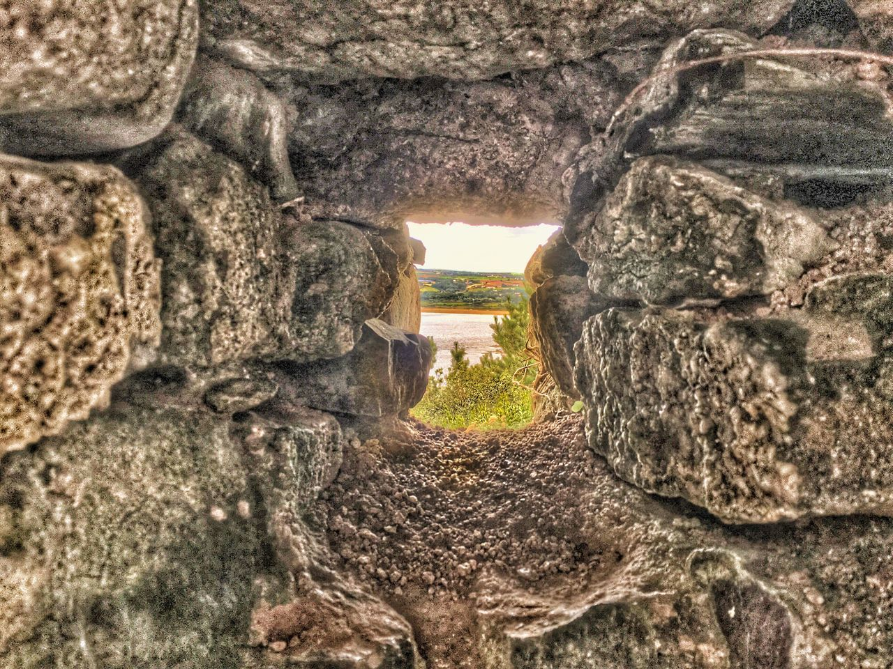 Textured  Indoors  Selective Focus Wall - Building Feature Rough Travel Destinations Day Nature Arch Scenics Non-urban Scene Stone Material Tranquility Archway Tranquil Scene History No People Weathered Rock Formation The Way Forward