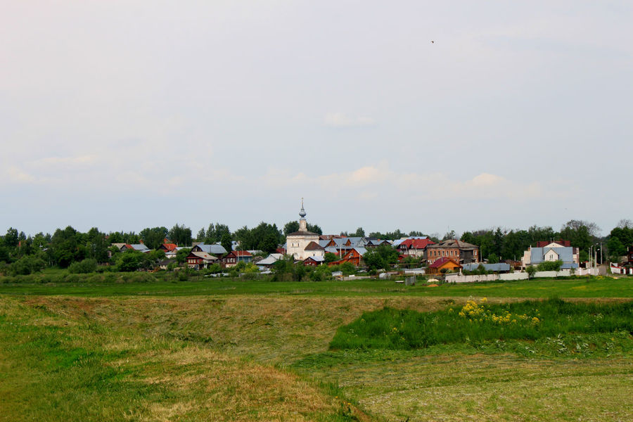 Agriculture Architecture Beauty In Nature Building Exterior Built Structure Day Field Grass Growth House Landscape Landscape_Collection Landscape_photography Landscapes Nature No People Outdoors Rural Scene Russia Russia россия Scenics Sky Suzdal Tranquility Tree