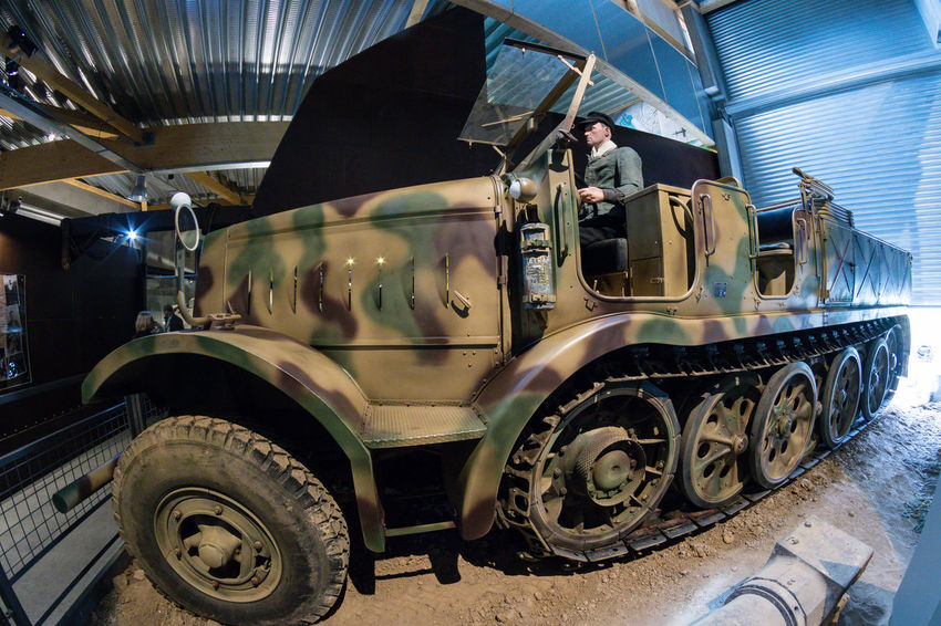 Overlord Museum, Colleville-sur-mer, Normandy, France, July 2017 D-Day II War World. Overlord Museum Car Exhibition Exhibits Exposure Land Vehicle Mode Of Transport Museum Omaha Beach Overlord Transportation