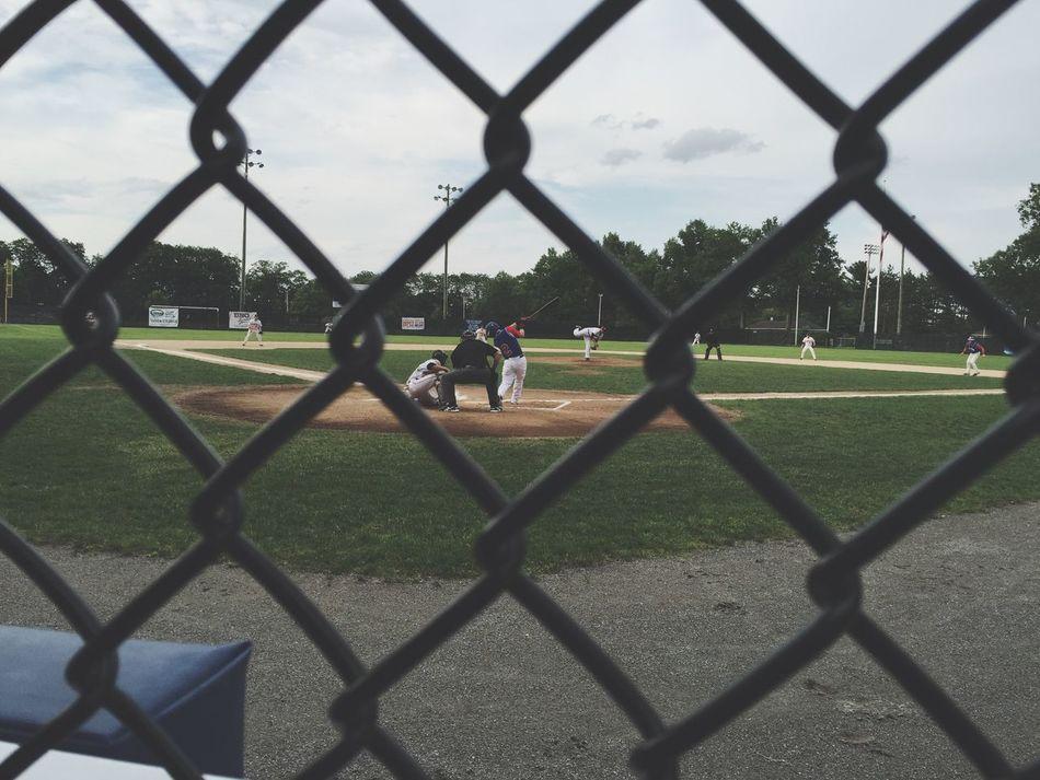 Beautiful stock photos of baseball, Baseball - Sport, Baseball Player, Baseball Uniform, Chainlink Fence