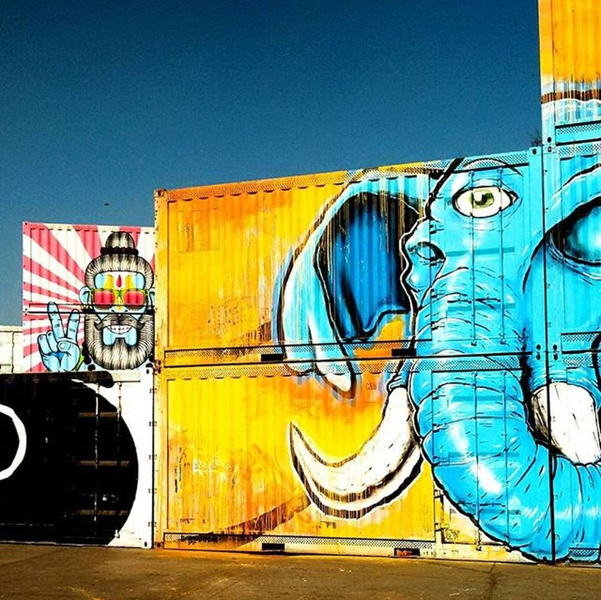 Blurred boundaries Takebackthecity Streetart St +art Wip Okhla Delhistreetart Delhi