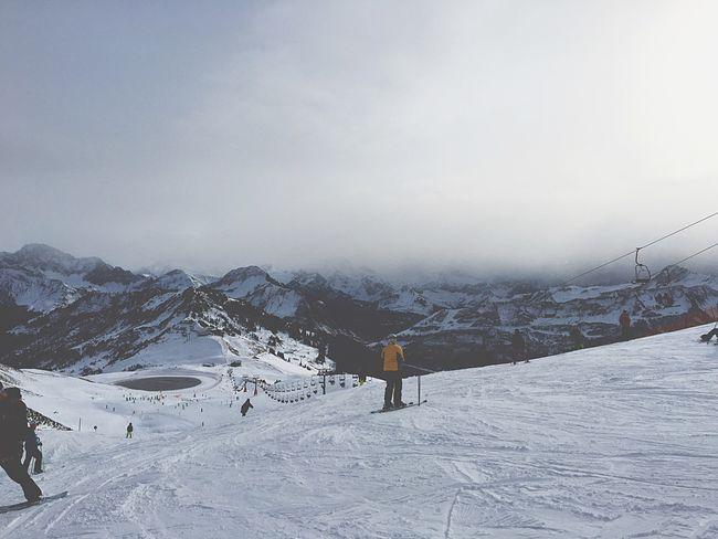 The Tourist Mountains Cloudy Lake Skiing Snowboarding Snow Letitgo Hello World Enjoying Life Confidence  Austria Nature Beautiful Gorgeous Cold Snowflake EyeEm Bestseller