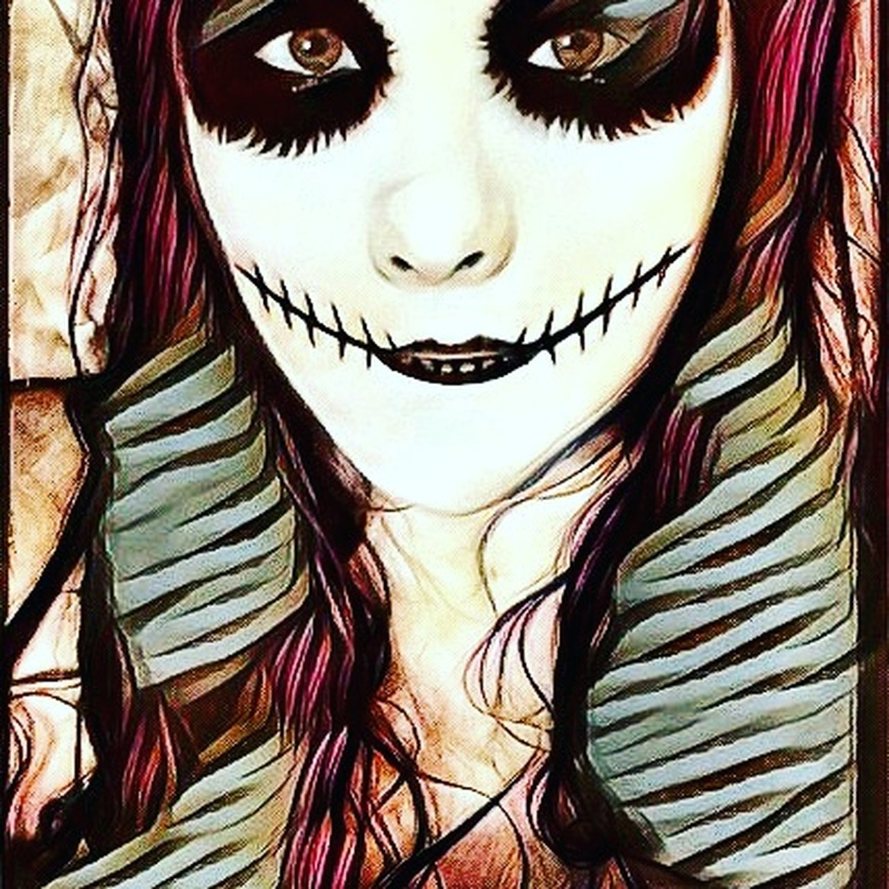 Reedited Halloween Zombiedoll Photographer Photo Effects Cool Effect Check This Out Halloween EyeEm Me Digitalart