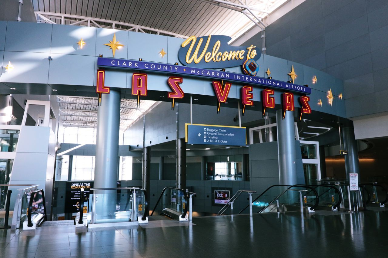LAS VEGAS, NV - OCT 13: McCarran International Airport in Las Vegas NV on Oct 13, 2016. Located 5 miles south of downtown, it is the principal airport serving Las Vegas. 43 Golden Moments Airport America Architecture Arrival Aviation Check This Out Departure Destination Entertainment Gamble Holiday Las Vegas Las Vegas Documentary Photography McCarran International Airport (LAS) Neva Passengers Resort The 00 Mission Travel Travel Trip United States Vacations We