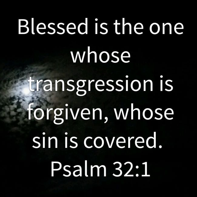 Forgiveness of Sin  only made possible through the Atonement of the LORD Jesus Christ