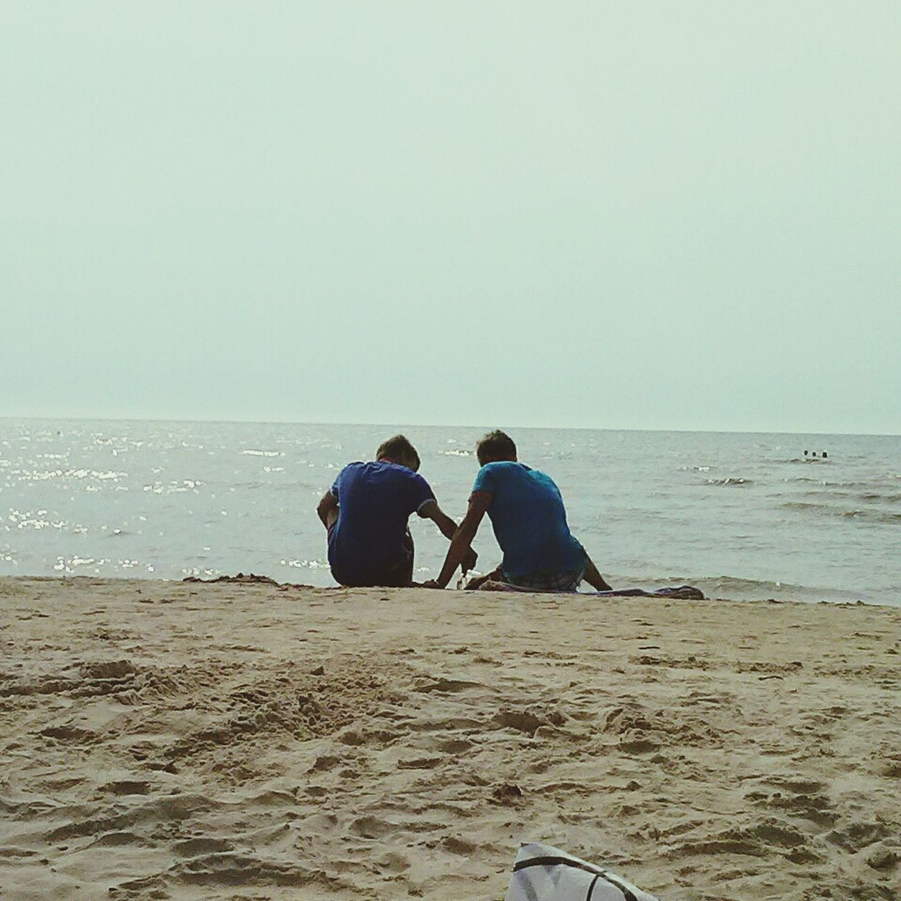 Sometimes we should try to remember, how good was our childhood.. Taking Photos Liepaja Beach Summer 2013