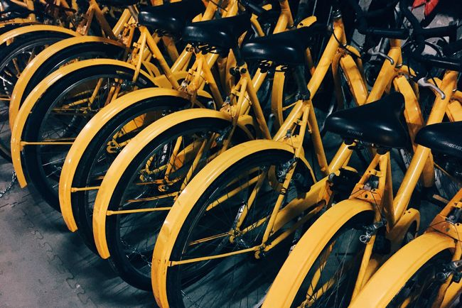 Showcase: February VSCO Cam Vscogood Vscocam Bycicle Yellow Composition VSCO Open Edit IPhoneography Iphonesia IPhone Iphonephotography OpenEdit Iphoneonly