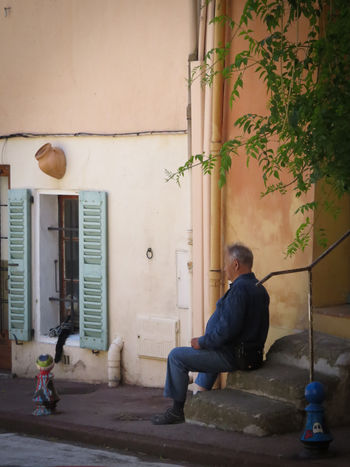 Feel The Journey France 🇫🇷 Vacation Time Côte D'Azur Enjoy The Moment Relax Wooden Shutters Village Photography Old Buildings Village Lifestyle Village People Local People Local Life Travel Outdoors Summer 2016 Street Photography