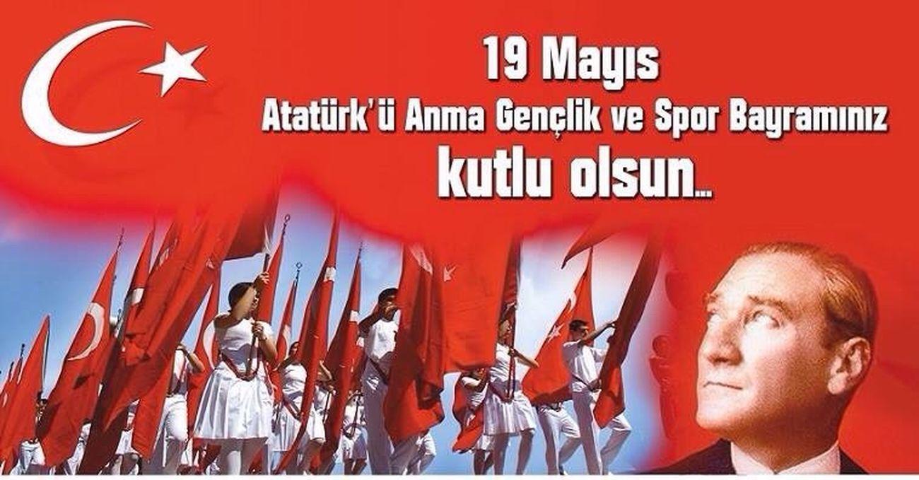 19 Mayıs Atatürk'ü Anma Gençlik ve Spor Bayramımız Kutlu Olsun. Ali Gülkanat www.aligulkanat.com.tr Millet Vekili Ali Gülkanat Milletvekili Mustafa Kemal Atatürk 19 mayıs