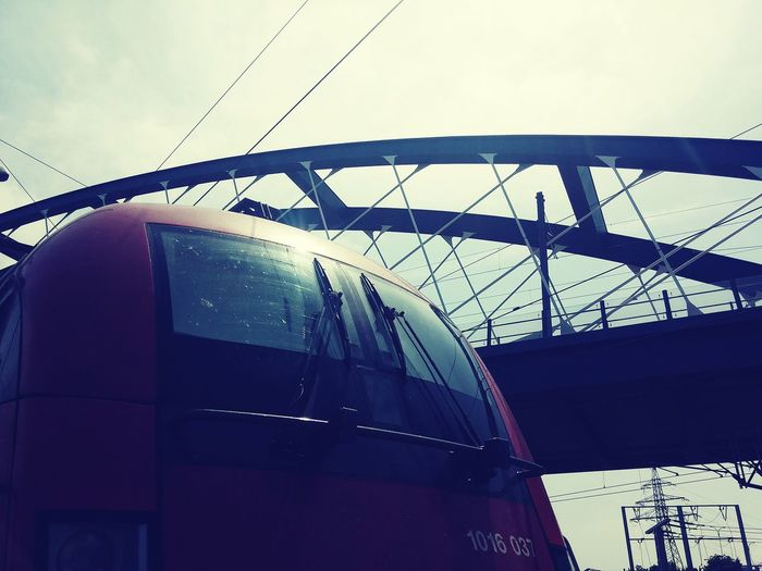 Traction Vehicle öbb Train Movement Bridge