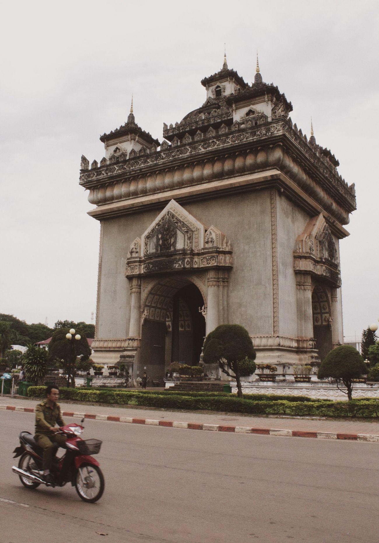 Laos Vientiane Patuxay ASIA